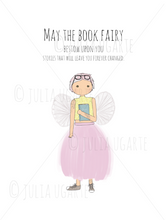 Load image into Gallery viewer, The Book Fairy Note Card