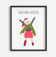 Load image into Gallery viewer, Christmas Spirited 8x10 Print