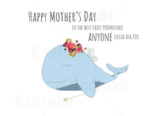 Load image into Gallery viewer, Fairy Podmother Mother's Day Note Card