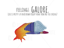 Load image into Gallery viewer, Feelings Galore Note Card