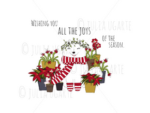 Load image into Gallery viewer, Wishing You All the Joys of the Season Holiday Card