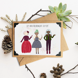 Joy and Merriment to You Holiday Card