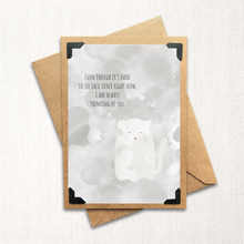 Load image into Gallery viewer, Ghost Kitty Thinking of You Note Card