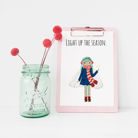 Light up the Season 8x10 Print