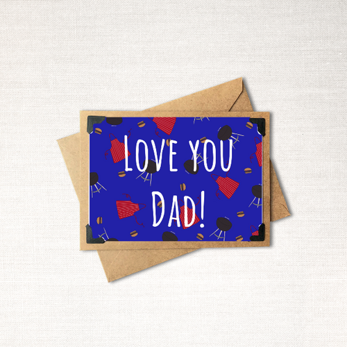 Love You Dad! Father's Day Card