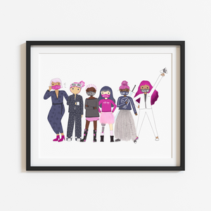 Special Edition Puckish Girls Group 8x10 Print