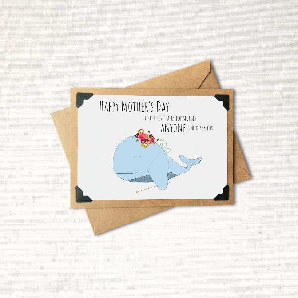 Fairy Podmother Mother's Day Note Card