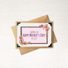 Load image into Gallery viewer, Happiest of Happy Mother's Days to You Note Card