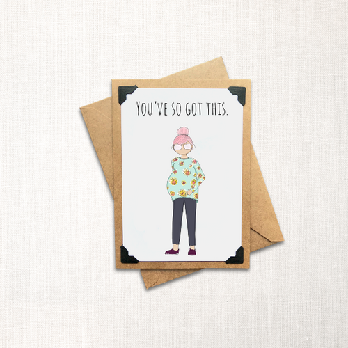 You've So Got This Note Card
