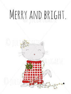 Merry and Bright 8x10 Print