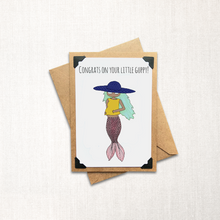 Load image into Gallery viewer, Congrats on Your Little Guppy Note Card
