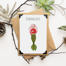 Load image into Gallery viewer, Sending Love Holiday Notecard