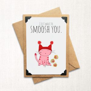 Smoosh Love Card
