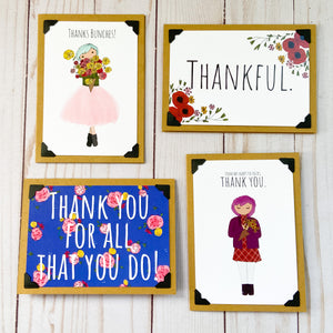 Thank You note card bundle