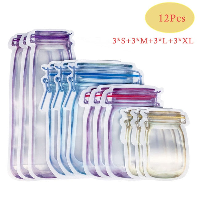 Mason Jar EnviroBags for Candy, Fruits & Nuts