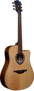Lâg THV10DCE Dread Cut HYVIBE Smart/Acoustic Guitar