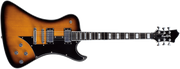 Hagstrom Fantomen Electric Guitar, Tobacco Sunburst