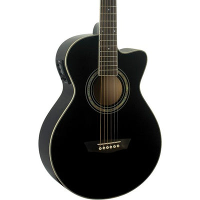 Washburn EA12B Festival Acoustic-Electric Guitar