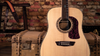 Washburn Heritage Elite HD80 Acoustic Guitar, Natural/Striped Ebony