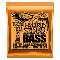 Ernie Ball Hybrid Slinky Nickel Wound Electric Bass Strings (2833)