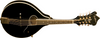 Washburn M1SDLB-a-U Americana a-Style Mandolin Solid Spruce Top Electric Guitar, Black