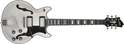 Hagstrom Alvar Electric Guitar, Swedish Frost