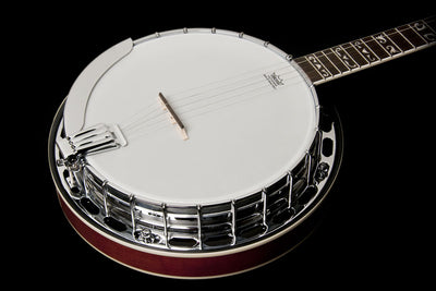 Washburn 5-String Americana B16 Resonator Banjo with Case