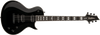 Washburn PXL20B Parallaxe Single Cut Electric Guitar, Black