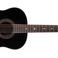 Washburn Bella Tono S9 Studio 9 Acoustic Guitar, Charcoal