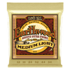 Ernie Ball Med/Light Earthwood 80/20 Bronze Acoustic Guitar Strings, 12-54 Gauge
