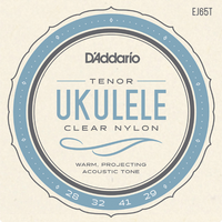 D'Addario Pro-Arte Custom Extruded Nylon Ukulele Strings, Tenor Low-G