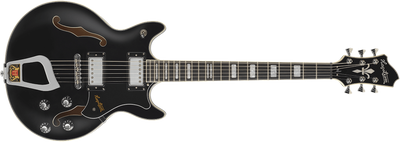 Hagstrom Alvar Electric Guitar, Black