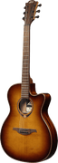 Lâg T118ASCE-BRS Tramontane Auditorium Acoustic-Electric Guitar