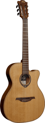 Lâg TN170ASCE Tramontane Country Auditorium Slim Cutaway Acoustic-Electric Guitar