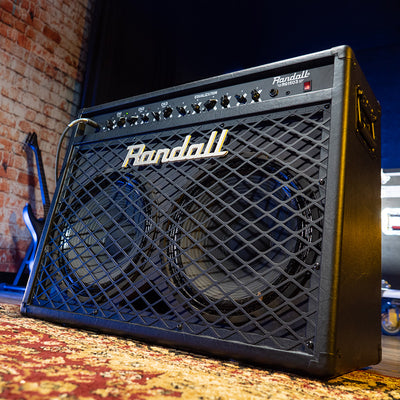 Randall RG1503-212 150W Solid State Guitar Combo Black