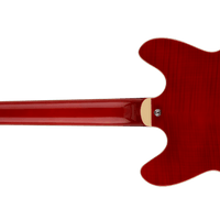 Hagstrom Viking Deluxe 12-String, Wild Cherry Transparent