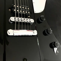 Washburn Parallaxe PXZ-260B Electric Guitar, Gloss Black