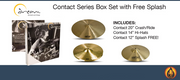 Dream Cymbals And Gongs Contact Series Box Set With Free Splash