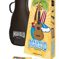 Mahalo Rainbow Soprano Ukulele 'Learn 2 Play' Essential Kit