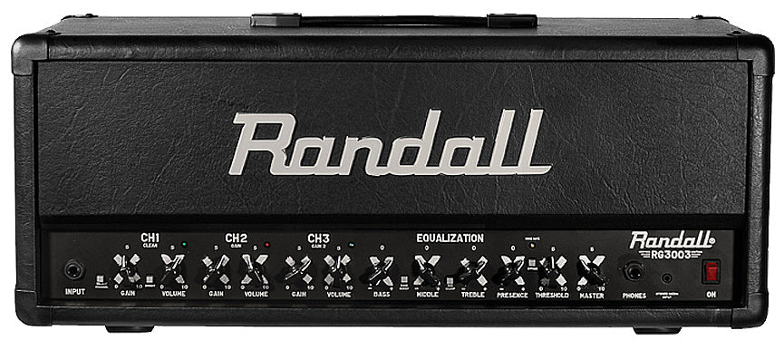 Randall RG3003H-U 300W 3 Channel Solid State Guitar Amplifier with Footswitch