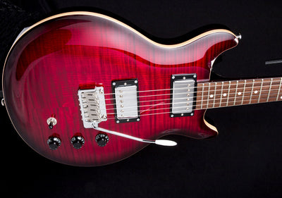 Hamer SATFW Archtop Tremolo Dark Cherry Burst Double Cut Electric Guitar