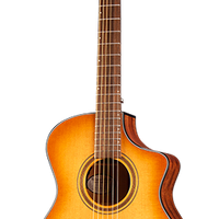 Breedlove Organic Signature Concert CE Acoustic-Electric Guitar, Copper Burst High Gloss