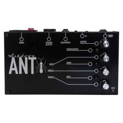Ashdown ANT200 The Ant. 200 Watt Pedal-board Bass Amplifier