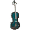 Barcus Berry Vibrato BAR-AE Acoustic-Electric Violin, Metallic Green Burst