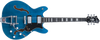 Hagstrom Tremar Viking Deluxe Electric Guitar, Cloudy Seas Finish