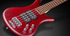 Warwick RockBass Corvette $$ 4-String Bass Guitar with Rockbag, red