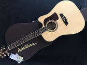 Washburn Heritage HD30SCE-GCDNDLX 6-String Acoustic-Electric with Washburn Hardshell Case