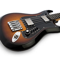 Hagstrom H8II-WCT-U Retroscape H8 Reissue 8-String Electric Bass Guitar, TB Sunburst