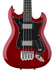 Hagstrom H8II-WCT-U Retroscape H8 Reissue 8-String Electric Bass Guitar, Wild Cherry