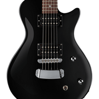 Hagstrom Ultra Swede ESN Electric Guitar, Black Gloss with FREE Gig Bag